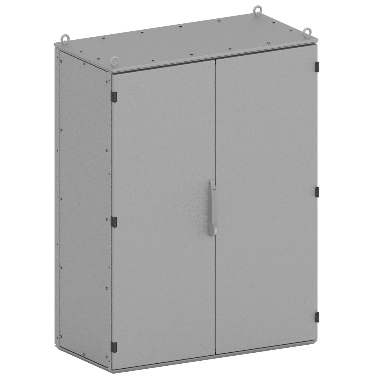 SencoPB's ESO-II two-door electrical enclosure has the largest maximum capacity at 500kg, with possibilities to customize.