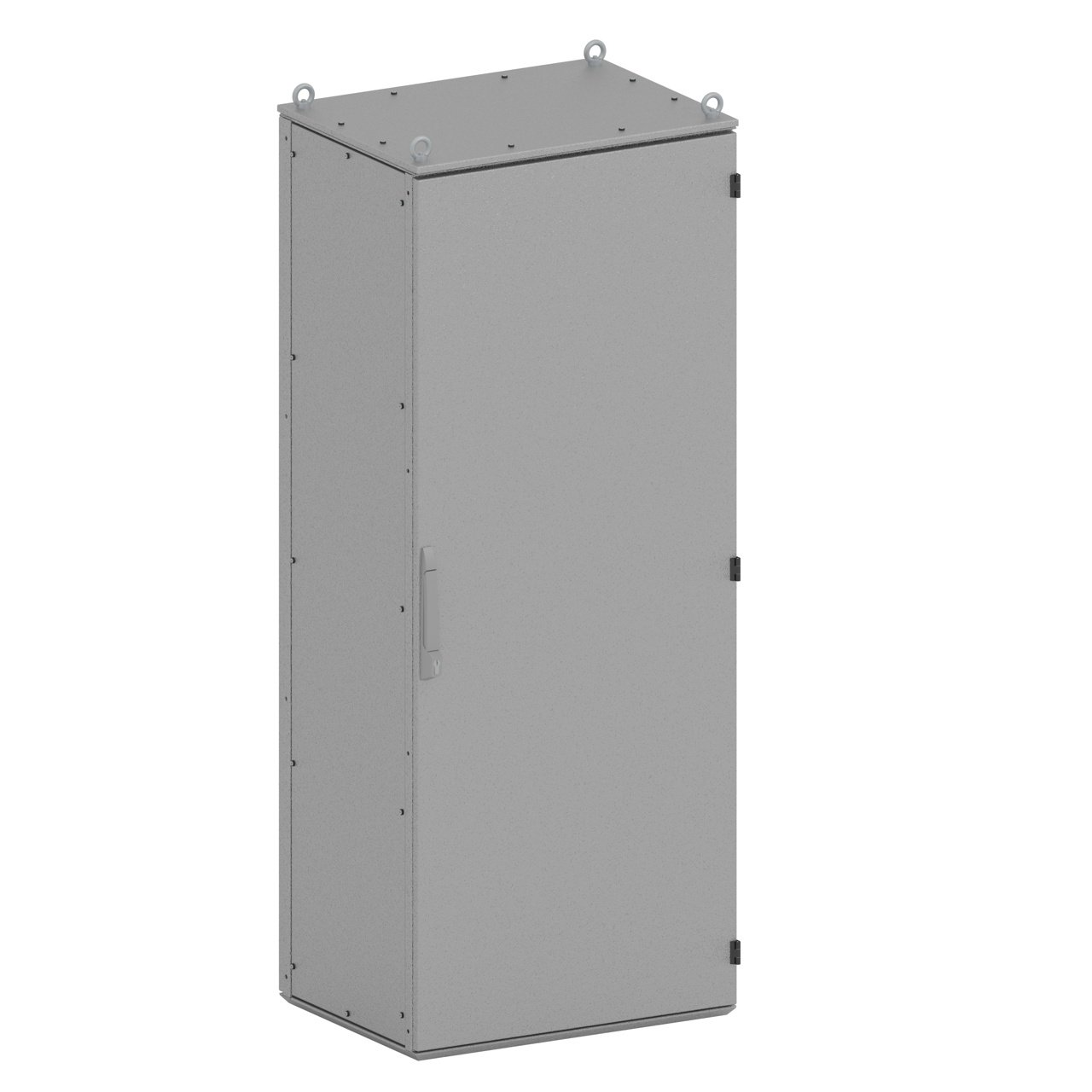 The ESO-II one-door electrical enclosure by SencoPB has a permanent skeleton design and the largest capacity at 500kg.