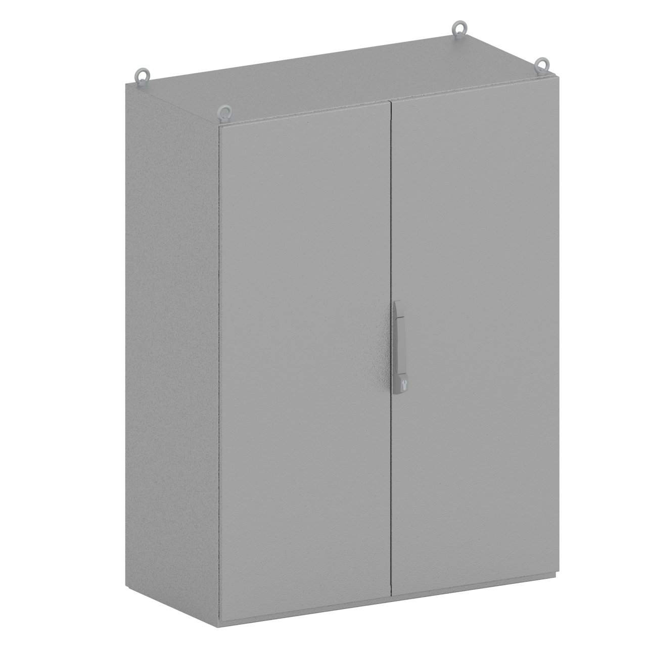 The KAPPA two-door switchgear enclosure by SencoPB has a 300kg maximum load capacity and possibility to customize materials.