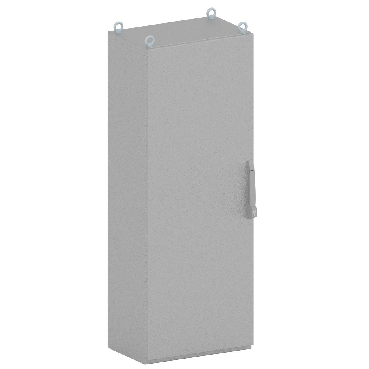 Senco's uniquely designed KAPPA one-door electrical enclosure (2200x600x100mm) has a compact steel sheet metal design.